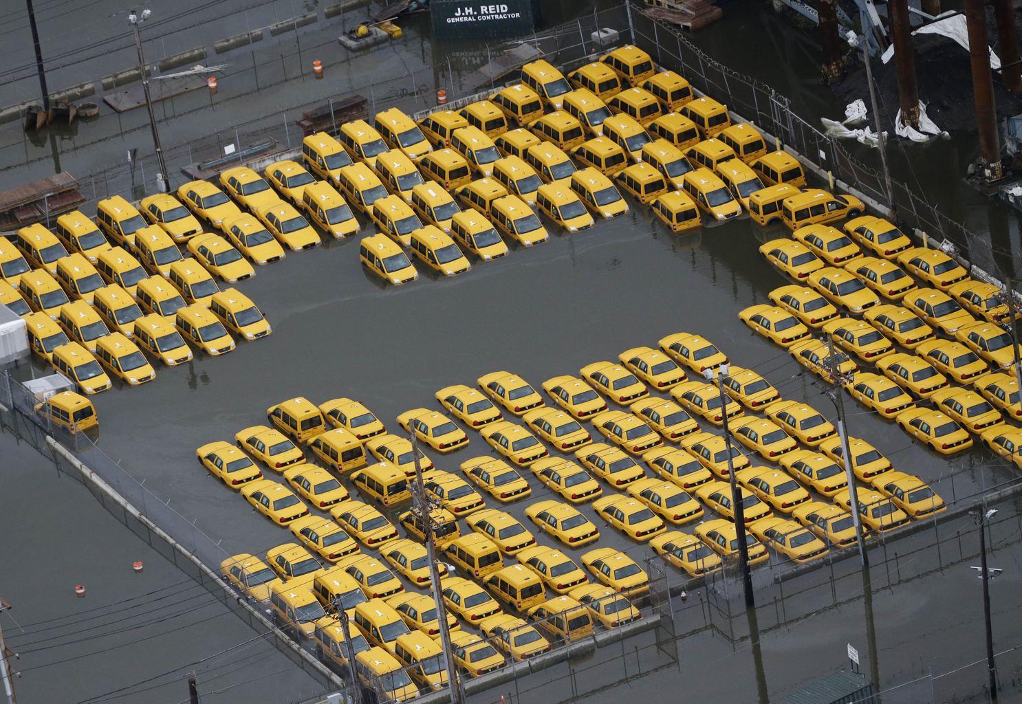 yellow cab flood