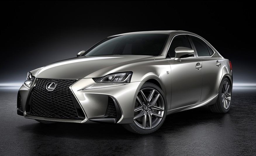 Lexus 2017 IS front